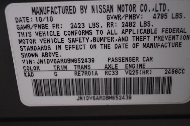 2011 Infiniti G G25x AWD