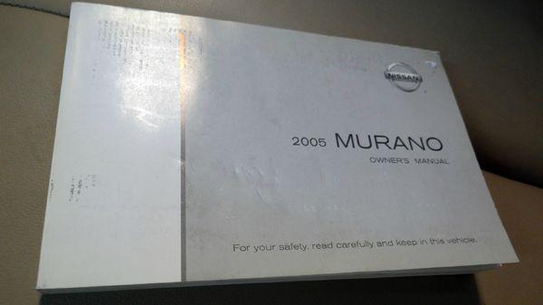 2005 Nissan Murano SL