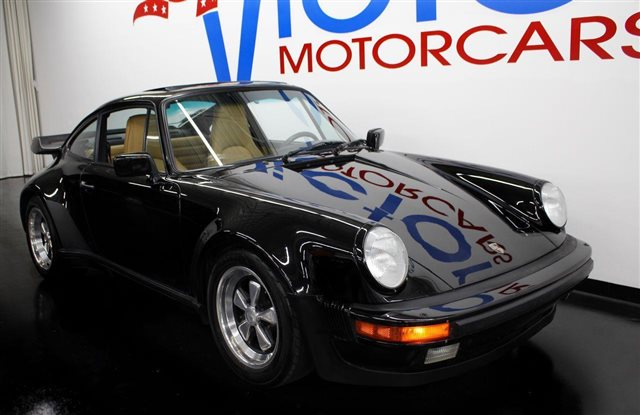 1988 Porsche 930 Turbo Coupe TURBO CHARGED