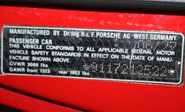 1977 Porsche 911 Targa