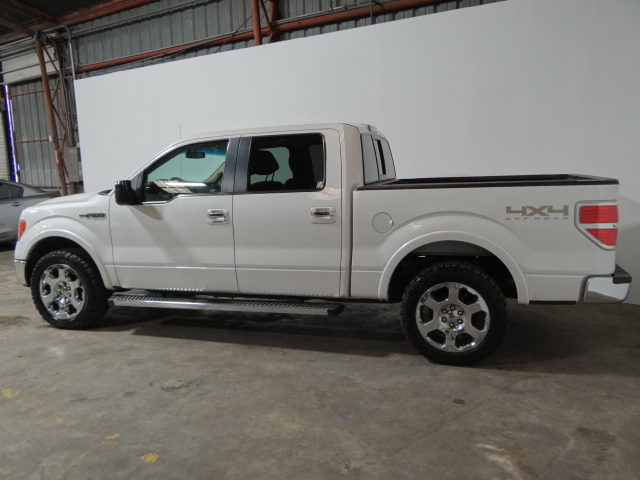 2012 Ford F150 4x4 SuperCrew