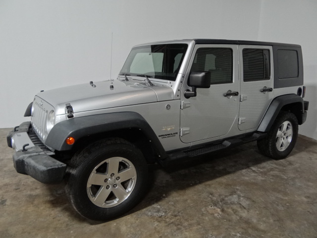 2008 Jeep Wrangler 4WD Unlimited Sahara