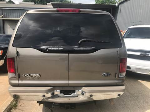 2002 Ford Excursion 2WD Limited